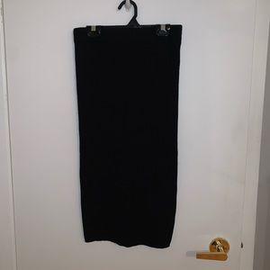 FOREVER 21 ribbed midi skirt